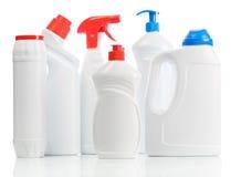 Plastic Kitchen Bottles Royalty Free Stock Photo