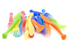 Plastic kitchen utensil Stock Photo