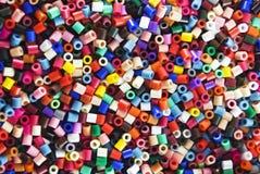 Plastic kleuren royalty-vrije stock afbeeldingen