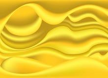 Plastic kleurrijke vormen voor Abstracte Gele kleur royalty-vrije illustratie
