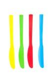 Plastic knivar Royaltyfri Fotografi