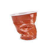 Plastic Kop Royalty-vrije Stock Foto's