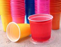Plastic kopp Royaltyfri Bild