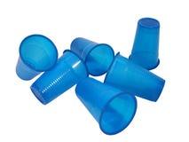 Plastic koppen Royalty-vrije Stock Afbeelding