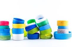 Plastic kroonkurk Stock Foto's