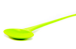 Plastic ladle Royalty Free Stock Photography