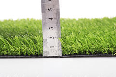 Plastic lawn Stock Photo