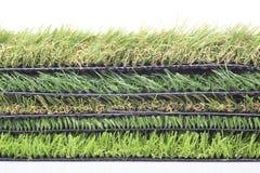 Plastic lawn Stock Image