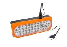 Plastic led flashlight Royalty Free Stock Photo