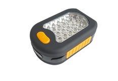 Plastic led flashlight Royalty Free Stock Photography