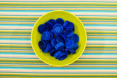 Plastic lids Royalty Free Stock Photo