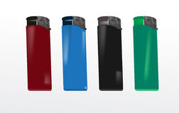 plastic lighters Royalty Free Stock Photography