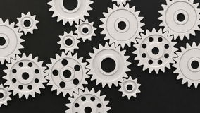 Plastic Loop Gear Royalty Free Stock Images