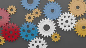 Plastic Loop Gear Royalty Free Stock Photography