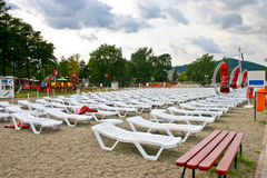 Free Plastic Lounge Chair Royalty Free Stock Photography - 20396117