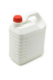 Plastic lubrication oil container Royalty Free Stock Image