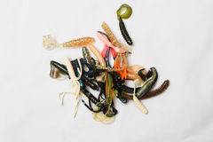 Plastic Lures Royalty Free Stock Photo
