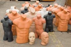 Plastic mannequins Stock Afbeelding