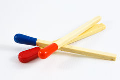 Plastic Matches Stock Images