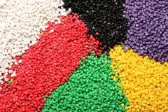 plastic material Stock Image