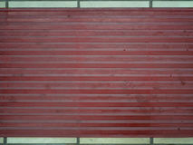 Plastic material. Red plastic material and white lines Royalty Free Stock Photos