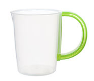 Plastic measuring cup Stock Image