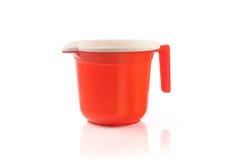 Plastic measuring jug Royalty Free Stock Photos