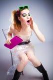 Plastic meisje Royalty-vrije Stock Foto's