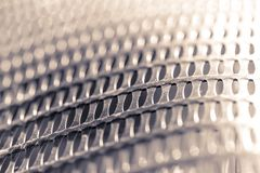 Plastic mesh for protection plant. Abstract background and dark texture stock photos