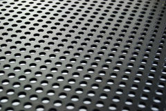 Plastic mesh surface Royalty Free Stock Image