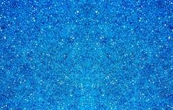 Plastic micro bubbles. Closeup of blue plastic micro bubble material Stock Images