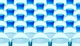 Plastic mineral water bottle Stock Images