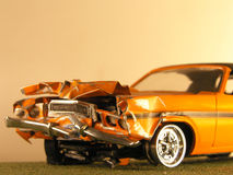 Plastic Model Of A Muscle Car Stock Photography