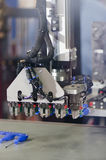 Plastic moulding machinery Royalty Free Stock Image