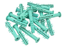 Plastic muuranker Stock Fotografie
