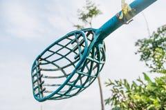 Plastic muzzle basket fruit Royalty Free Stock Images