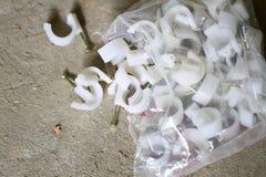 Plastic niet uitsprekende over pen Royalty-vrije Stock Foto's