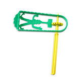 Plastic noisemaker or gragger for purim celebration holiday (jewish holiday) Stock Photography