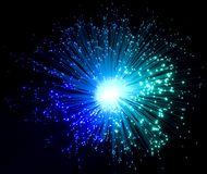 Plastic optical fibers Royalty Free Stock Photos