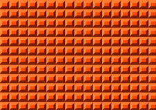 Plastic orange carpet Stock Photos