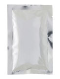 Plastic package bag isolated Stock Photography