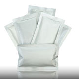 Plastic pakket Royalty-vrije Stock Afbeeldingen