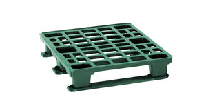Plastic pallet Royalty Free Stock Photography
