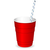 Plastic party cup Stock Photos