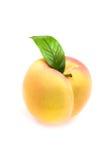 Plastic peach Stock Photos