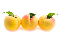 Plastic peach close up Royalty Free Stock Images