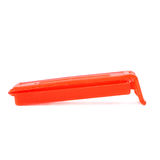 Plastic peg pin isolated over the white background Stock Images