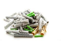 Plastic pen royalty-vrije stock afbeelding