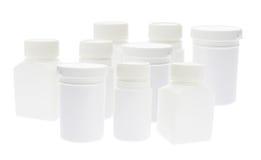Plastic Pill Bottles Stock Images