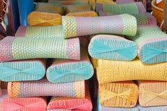 Plastic pillow Stock Photo
